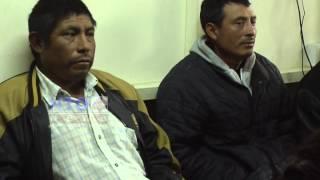 Líderes comunitarios de Tacana, esperan sentencia.
