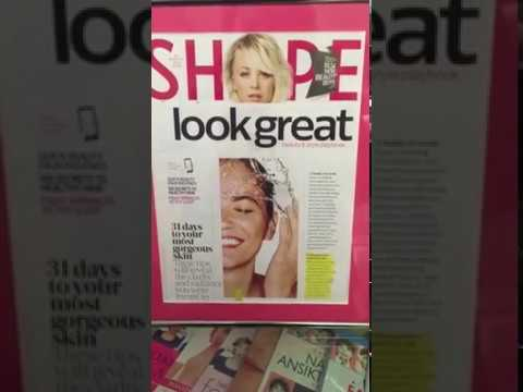 Shape magazine article