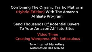 OTP Combine Organic Traffic Platform With Amazon Affiliate Video 3