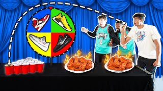 2HYPE Heat Check Challenge! Eat a HOT WING or Win RARE Shoes!