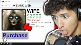 WE BOUGHT A WIFE OFF THE DARK WEB... *REACTION*