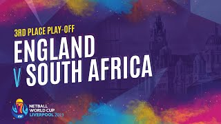 England v South Africa | Third Place Play Off | NWC2019