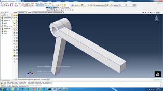 Abaqus/CAE : Aluminium Can Lateral Crash Test using Abaqus