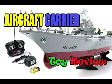 Kids toy videos: Aircraft Carrier - Amphibious assault ship - rc boats