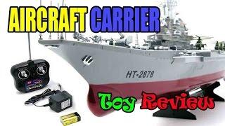 Kids toy videos: Aircraft Carrier - Amphibious assault ship - rc boats