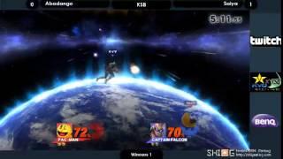 KSB スマブラWiiU部門 勝者側1回戦 Abadango vs Saiya/KSB Smash WiiU WB1