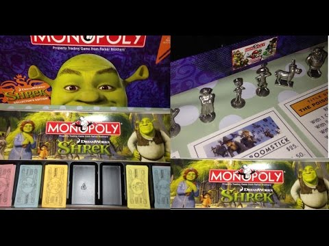 Monopoly jr. Shrek 2 edition ~ complete board game | ebay.