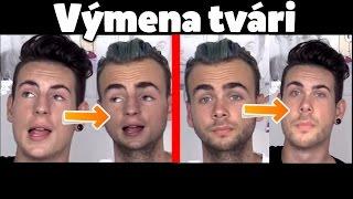 PREHODENIE TVÁRÍ YOUTUBEROV! :D - Face Swap