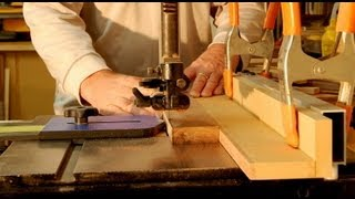 Woodworking - How To Cut Thin Wood Strips On The Bandsaw -   Woodworker Skills & Methods