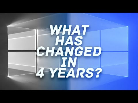 Windows 10: THIS has changed in the past 4 YEARS!
