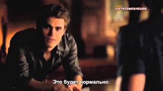 The Vampire Diaries season 5 bloopers (RUS SUB)