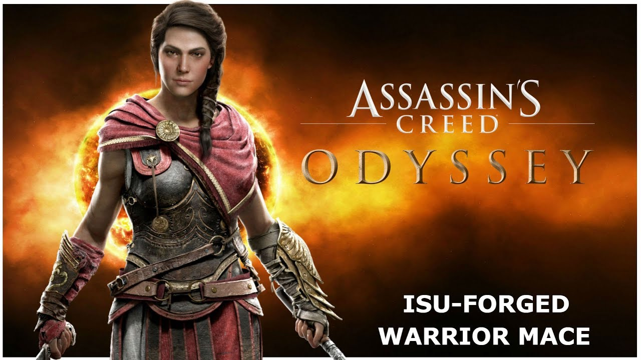 Assassins Creed Odyssey Isu Forged Warrior S Mace Atlantis Dlc