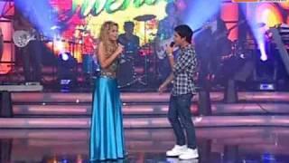 competencia grupal de canto con la banda adammo reyes del show peru 12 12 09