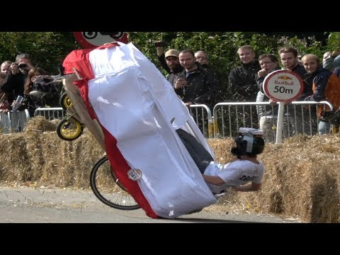 Best Crashes Red Bull Soapbox 2017 Aarhus Denmark