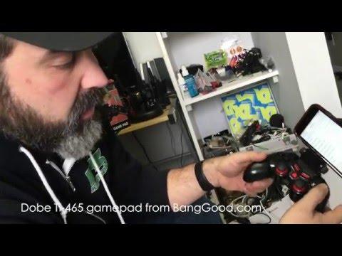 DOBE TI 465 - Безжичен джойстик с Bluetooth за PC и други игри, Αndroid и iOS 13