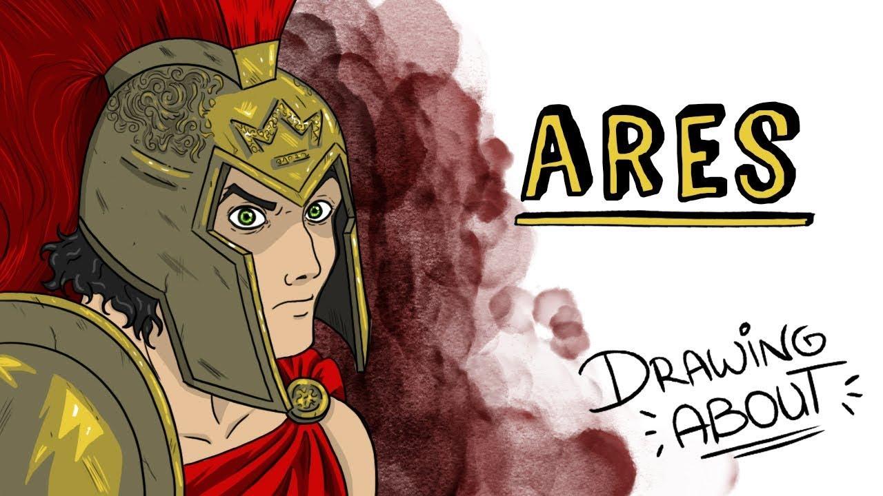 Ares. O deus da guerra 🔱 Draw My Life Português