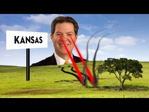 Kansas Gov Sam Brownback Fulfills Promise To Destroy Kansas