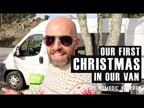 Our First Christmas in a Van I Former Royal Marine Living Va