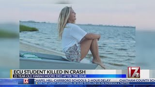 ECU student dies in fatal accident