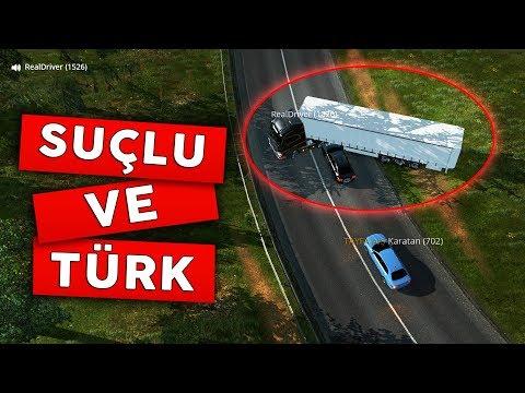 ADAM KAFADAN GİRDİ OLAYA BAK!!! | ETS2MP