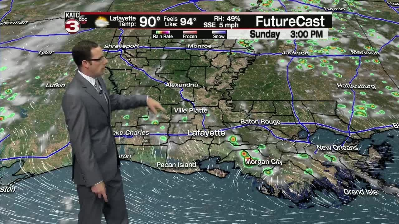 Eric's 6pm weather