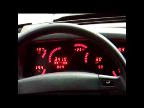 1987-1993 Foxbody Mustang Digital Instrument Cluster Demo