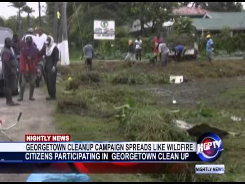 GEORGETOWN CLEAN-UP CAMPAIGN SPREADS LIKE WILDFIRE