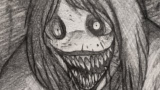 How to Draw Jeff the Killer, Jeff the Killer Drawing, Step by Step