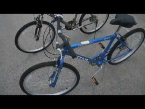 Titan Docksider Ozone 500 Silver Canyon Mountain Bikes On