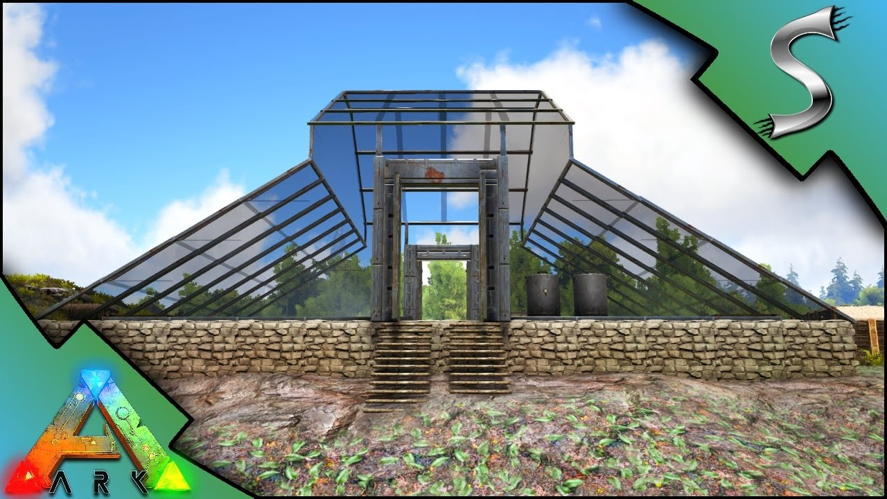 THE GREENHOUSE! EPIC GIANT FARM! - Ark: Survival Evolved [S3E105]