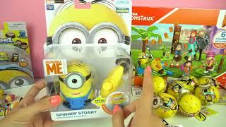 Despicable Me 3 Movie Toys for Kids - Bling Bag Toy Surprises Lego Construx Minions Gru Agnes Margo
