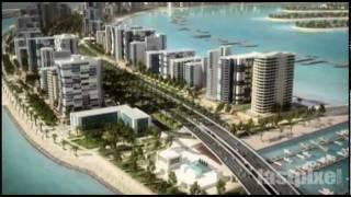 Пальмовый остров Джумейра (Дубай / ОАЭ)(Пальмовый остров Джумейра (араб. نخلة الجميرة    ) — искусственный остров, который находится на берегу Дуба..., 2012-01-26T09:01:49.000Z)