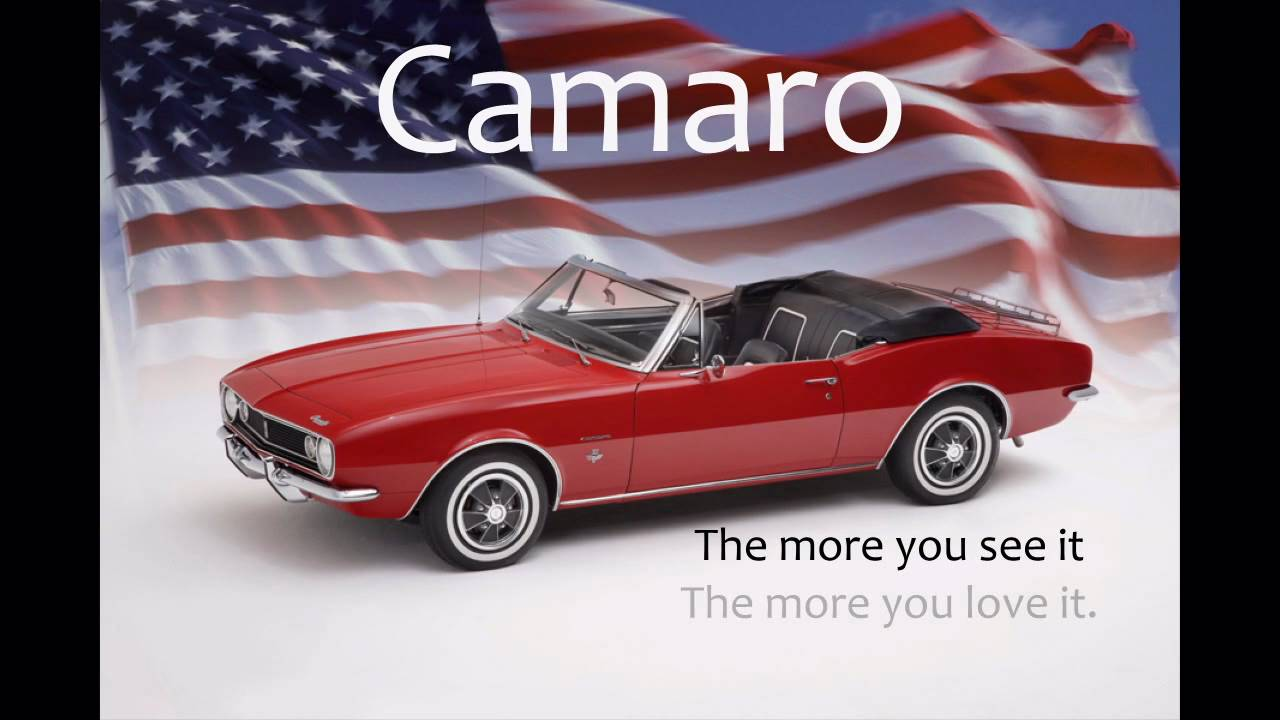 First Camaro Convertible Ever Produced! - YouTube