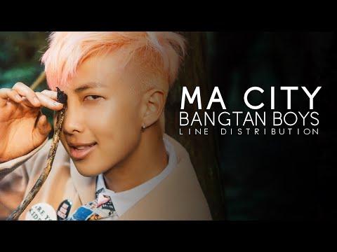 BTS - Ma City (Line Distribution)