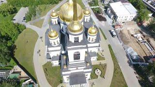 Всенощное бдение 6 июня 2020 г., Александро-Невский Ново-Тихвинский женский монастырь, Екатеринбург