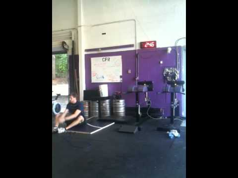 Almost Annie....A CrossFit Girl WOD