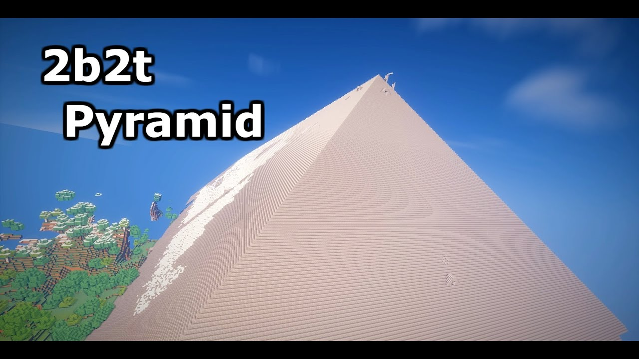 2b2t Huge Pyramid by Mines