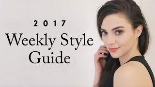 8 Looks for 2017  | Capsule Wardrobe