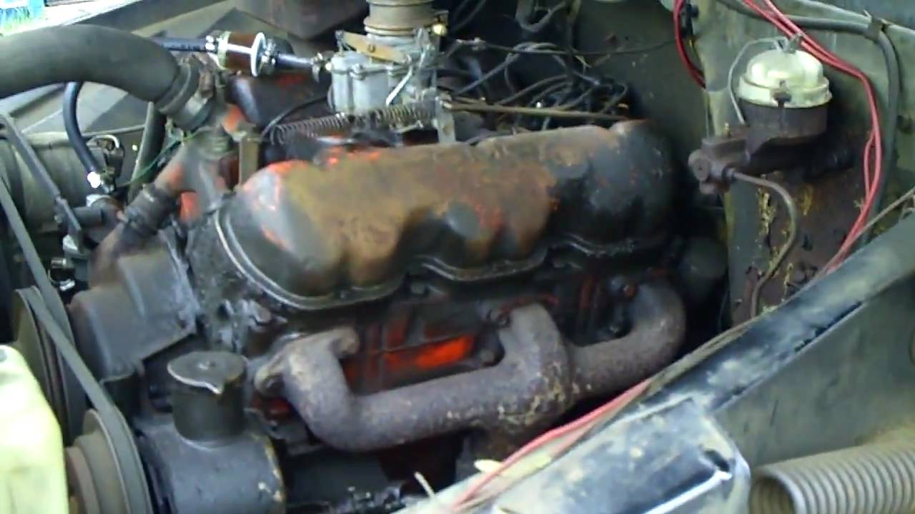 All Chevy 305 chevy engine for sale : 1965 GMC V6 305E Sat still for twenty years - YouTube