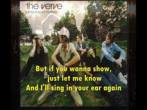 THE VERVE The Drugs don't work + Lyrics