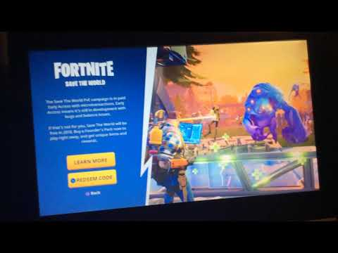 The truth about fortnite save the world Codes!100% NO LIE!