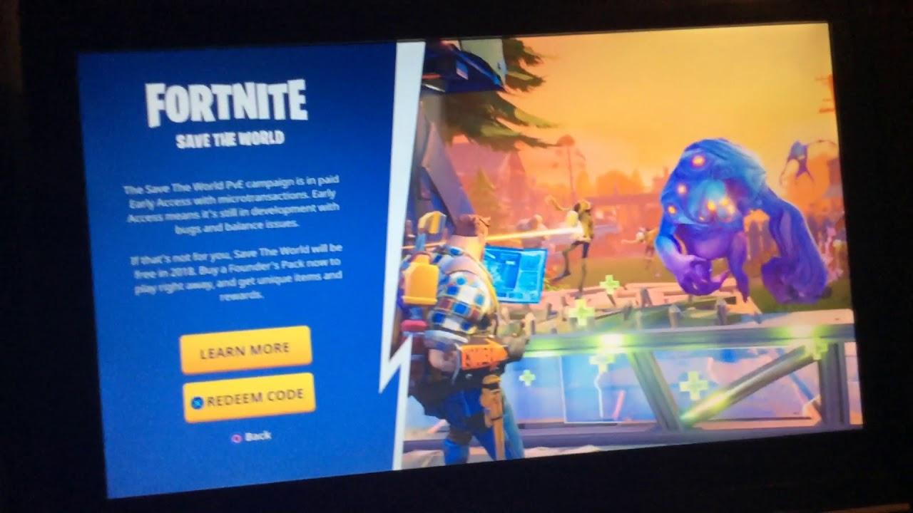 The truth about fortnite save the world Code!You Can't Get It For Free