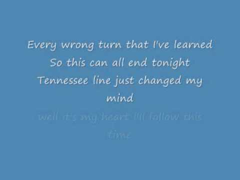 Chris Daughtry - Tennessee Line Lyrics FULL/HQ