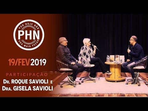 PHN - Falsas Doutrinas, Conversão: Hoje profissionais de Deus Dr. Roque e Dra. Gisela (19/02/19)