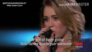 "Miley Cyrus Performs ""The Climb"" Live at CNN Heroes 2011 - Spanish subtitles"