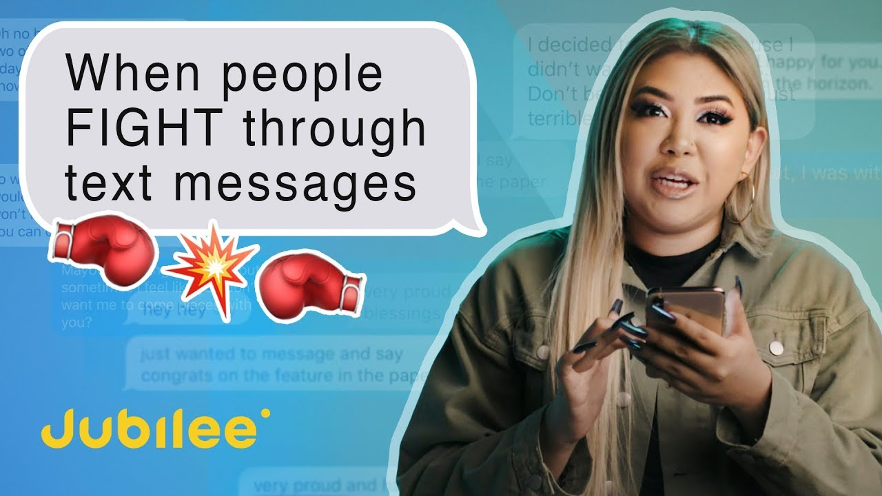 People Read Their Biggest Fights Through Text Message