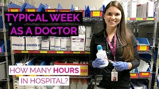 A WEEK AS A DOCTOR: How Many Hours in Hospital? (Medical Resident Vlog) thumbnail