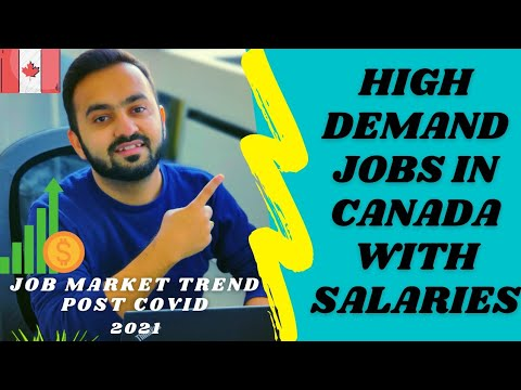 High Demand Jobs In Canada 🇨🇦 With Salaries   Canada Job Market Trend After COVID   2020-2021
