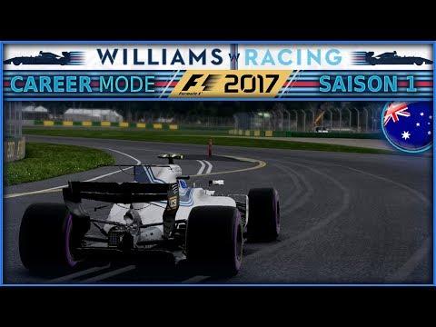 F1 2017 Mode Carrière [FR] PART 1 - NOS DÉBUTS