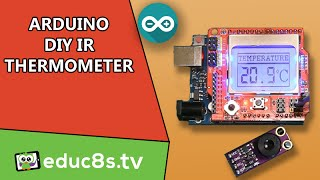 Arduino Project Ir Thermometer Using Mlx90614 Ir Temperature Sensor Icstation Com